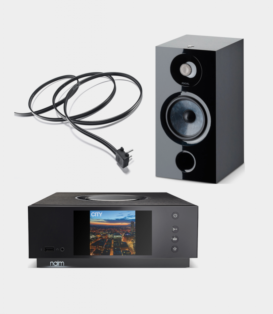 Naim Uniti Atom HDMI + Focal Chora 806 + Naim NAC A5